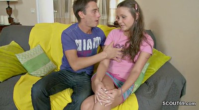 First anal, Skinny anal, Young sister, Step anal