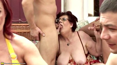Gangbang, Group, Couple, Old couple, Granny group, Granny gangbang