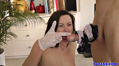 English, Mature blowjob