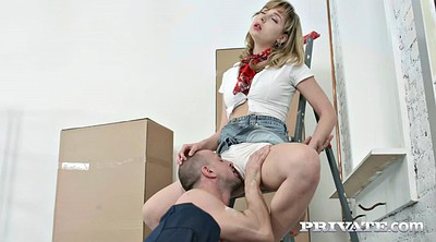 Home, Connie, Russian anal, Help, Ass fuck, Russian licking