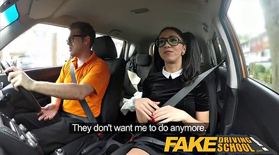School, Spanish, Fake, Driving, Fake drive