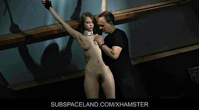 Spank, Teen slave, Hairy bdsm