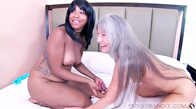 Mature, Asian black, Black granny, Asian mature, Asian granny, Threesome mature