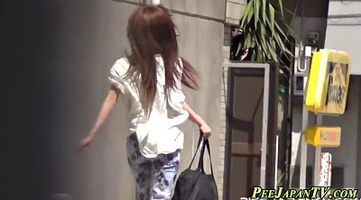 Japanese public, Outdoor pee, Public pee, Asian public