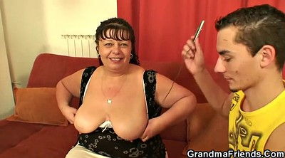 Two, Fat old, Old fat, Wife threesome, Mature young, Fat granny