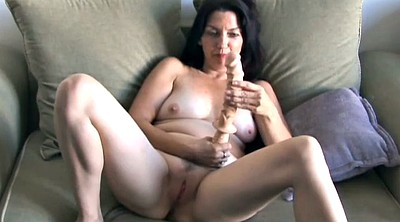 Mature solo, Granny solo, Busty mature solo, Mature big dildo, Home alone, Busty cougar