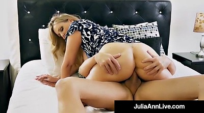 Mom, Julia ann, Mom son, Step mom, Julia ann mom, Mature blowjob