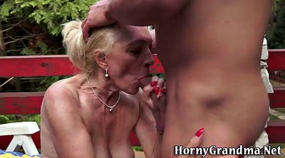 Old, Cum swallow, Granny swallow