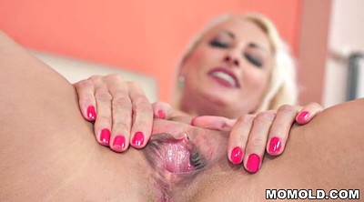 Old creampie, Blonde mature