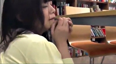 Japanese public, Japanese girl, Library, Japanese in public