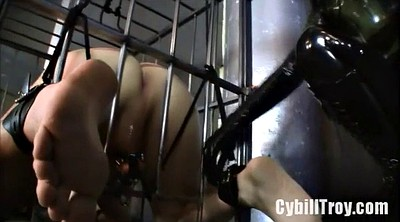 Bondage, Fist, Train, Femdom fisting, Deep fisting strapon, Anal train