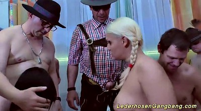 Party sex, Group sex orgy, German party