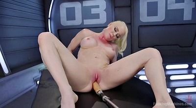 Chubby, Booty, Chubby solo, Fucking machines, Blondie