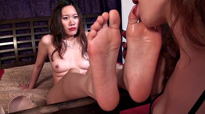 Chinese foot, Chinese feet, Asian feet, Lesbian feet, Asian lesbian, Asian foot