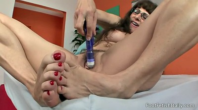 Silk, Mature feet
