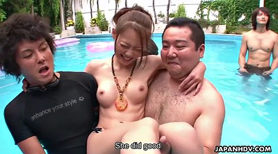 Asian outdoor, Japanese party, Multiple orgasms, Multiple orgasm, Multiple, Japanese pool