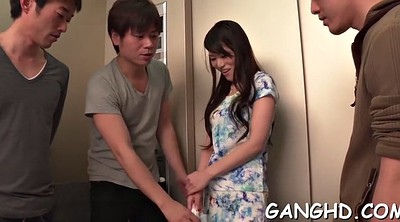 Japanese group, Japanese gangbang, Asian gangbang