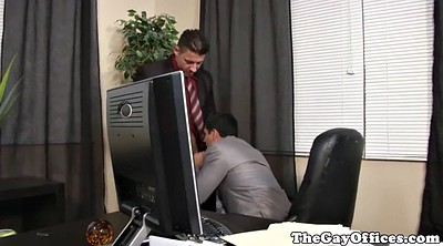 Big cock, Office anal