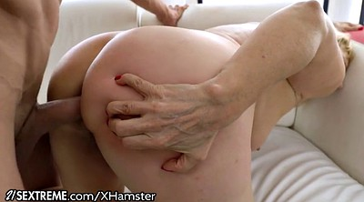 Granny anal, Hairy anal granny