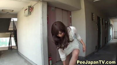 Girl, Asian street, Hair, Asian pissing