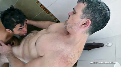 Asian old, Old daddy, Old dad, Asian daddy, Licking, Asian dildo