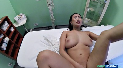 Office, Asian cumshot, Asian doctor, Patient