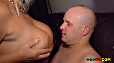 German blonde, Bbw cumshot