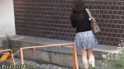 Beautiful, High heels, Japanese pissing, Japanese piss, Pissing public, Public pissing