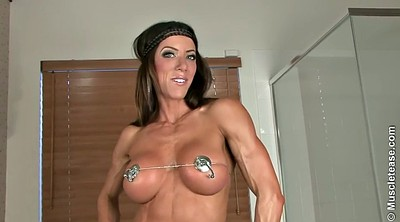 Anal solo, Fitness, Whore, Julie, Gym anal, Solo muscle