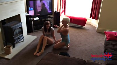 Diaper, Punish, British, Lesbian babysitter, Diapers, Lesbian punishment