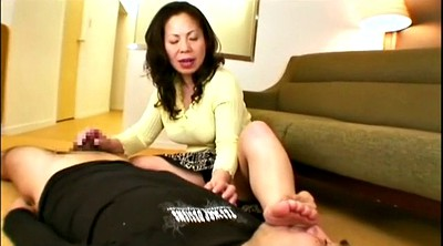 Asian foot, Mature feet