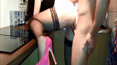 Heels, Hot wife, Fuck heels