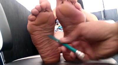 Mature feet, Mature foot, Mexican, Sole
