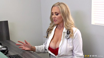 Julia ann, Julia, Clinic, Ejaculation, Clothed