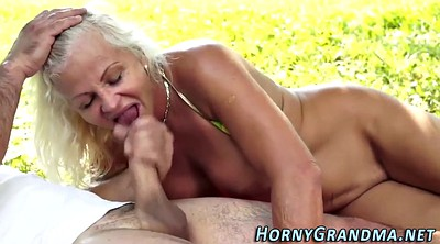Mature anal, Old lady