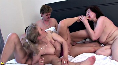 Old and young, Young mom, Mature gangbang, Granny gangbang, Granny sex, Young and old