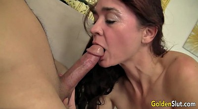 Young, Mature blowjob