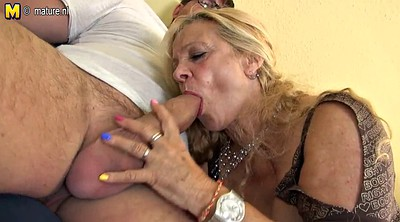 Milfs, Young old, German granny