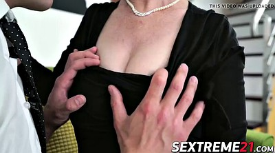 Old young, Rob, Sofa sex, Mature hard, Horny granny