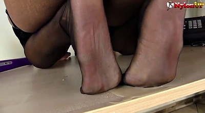 Foot, Stockings, Shoe