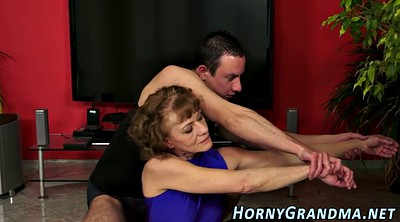 Granny anal, Hairy granny, Anal cum