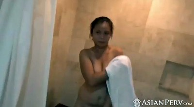 Hairy pussy, Hairy pussies, Asian shower