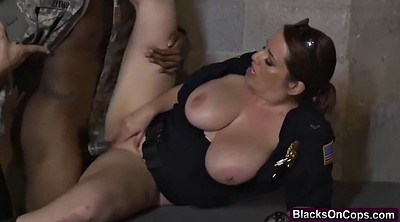 Soldier, Jail, Black milf, Fake cop, Soldiers, Satisfying