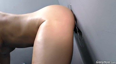 Gloryhole, Big black cock, Ass hole, Gloryhole anal