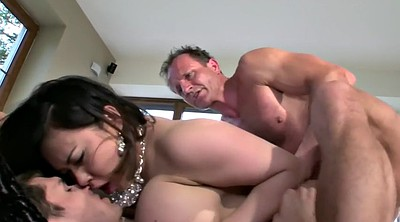 Double, Shave, Busty anal, Asian dp