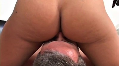 Slave, Facesitting, Femdom, Big boobs, Dirty talk