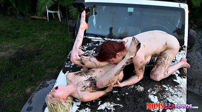 Blonde, Punishment, Peeing outdoor