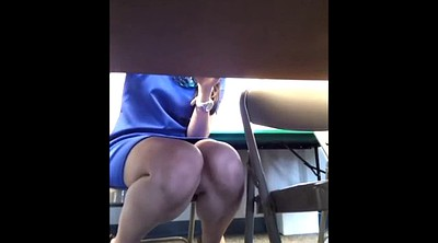 Under table, Under, Upskirts