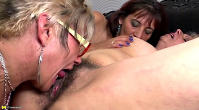 Two matures, Mature mom, Mom lesbian