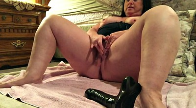 Huge dildo, Wife black